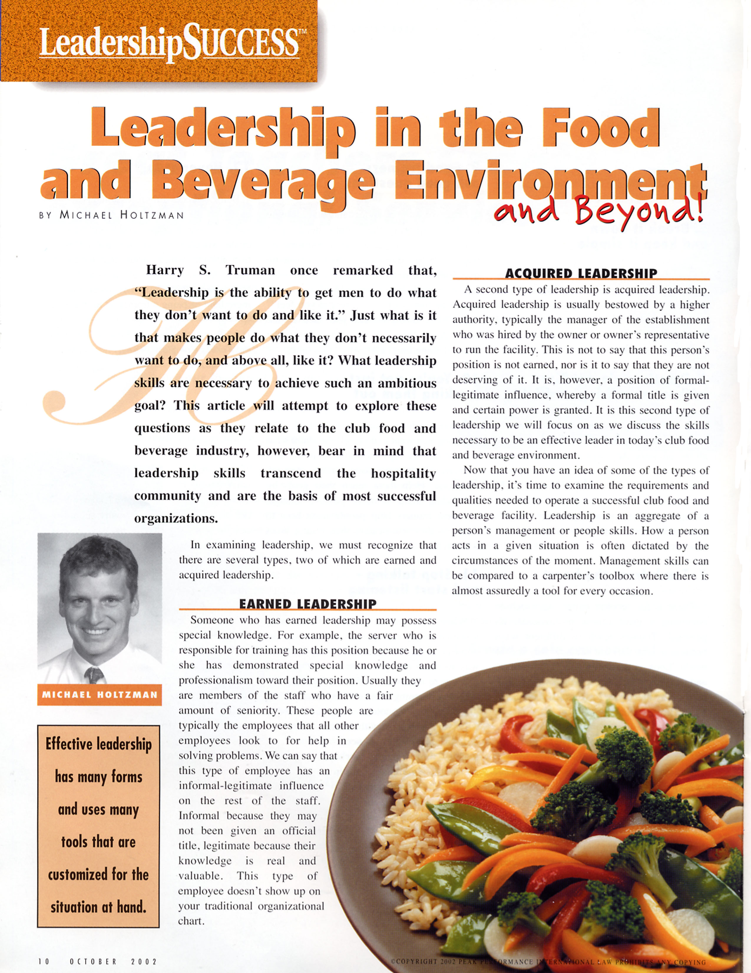 leadership food beverage environment kitchen design and food and beverage consulting